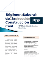 Regimen Laboral de La Construccion Civil