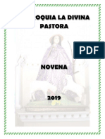 Novena Divina Pastora