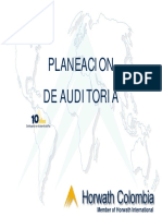 Proceso Planeacion de Auditoria