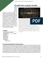 Estructura del universo a gran escala - Wikipedia, la enciclopedia libre.pdf