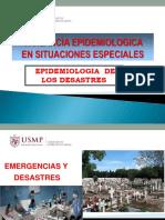 Vigilancia Epidemiologica y Desastres