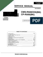 Sharp Cms r500cdx Cp r500