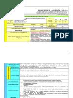 Planeacion Didactica de Geometria Analitica tercer parcial