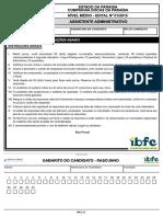 Ibfc 2015 Docas Pb Assistente Administrativo Prova