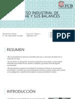 PROCESO INDUSTRIAL DE LA LECHE Y SUS BALANCES.pptx
