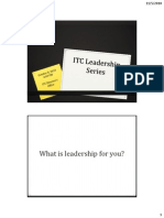 ITC Leadership Series