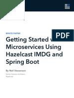 Microservices HazelcastIMDG With Spring Boot WP SPOT Letter v0.5