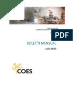 Boletín Julio 2019