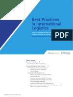 Mejores Practicas en Logistica Internacional