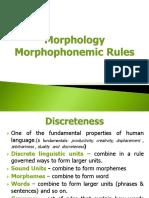 Morphology REPORT