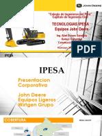 Presentacion John Deere - Cip Junin 2016