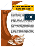 Informacion Cacao