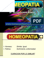 homeopatia medicina natural