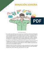 Informe Contaminacion Visual y Auditiva