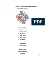 menentukan faktor enzim katalase