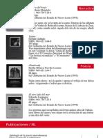 catalogo publicaciones NL