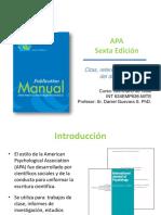 Manual APA SEXTA EDICION