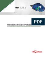 Nastran 2018.2 Rotor Dynamics