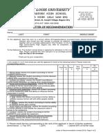 SLU - LHS Senior High Reccommendation Form AY 2018 - 2019(1)