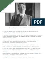 Adolf Hitler Murió de Viejo en Argentina