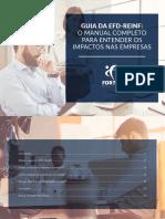 EFD-Reinf - Guia Completo 2.0 1 - E-Book - Para Entender Os Impactos Nas Empresas