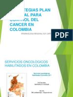 Presentación Estrategias Control de Cancer Colombia