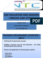 Job evaluation and grading process and systems