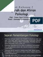 sejarah dan aliran psikologi