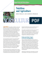 Nutrition Agriculture and Food Secur