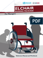 Wheelchair Service Training Pakage(Who)