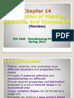 EIN 3390 Chap 14 Fabrication Plastics Review Spring_2012