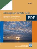Managing Climate Change Risk_WB 2006.