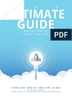 The Ultimate Guide for Getting to Initial Traction V2