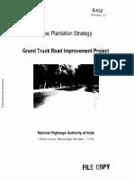 Tree Plantation Strategy - GTR(1)