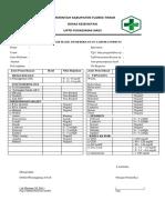 form hasil lab