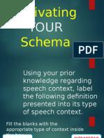 1 Speech Context