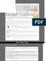 Issue Tracking System Java Screens