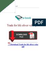 Trade for Life Oliver Velez PDF