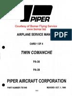 PA-30 Maintenance Manual