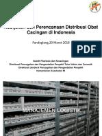 Pdgl,Kebijakan Dan Perencanaan Distribusi Obat Filariasis Dan Kecacingan Di Indonesia