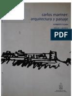 Carlos Martner- Arquitectura y Paisaje