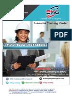 Training Custom Clearance