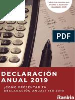 Manual Declaración anual 2019 - SAT Como presentar mi declaracion.pdf