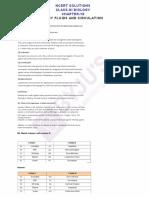 Ncert Solutions Class 11 Biology Chapter 18 Body Fluids and Circulation