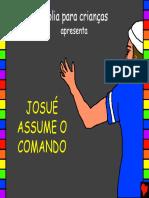 13 Josué Assume o Comando