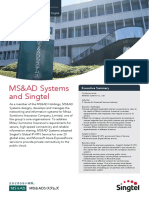 MS&AD Systems and Singtel