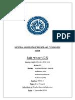 AP Lab Report 01