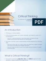 Lesson 2 Critical Thinking