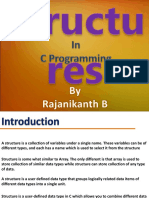 structures in c programming