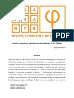 4. Cuadrante-Phi-31_Aspectos Ontológicos y Epistémicos - Angie Posso Mesa